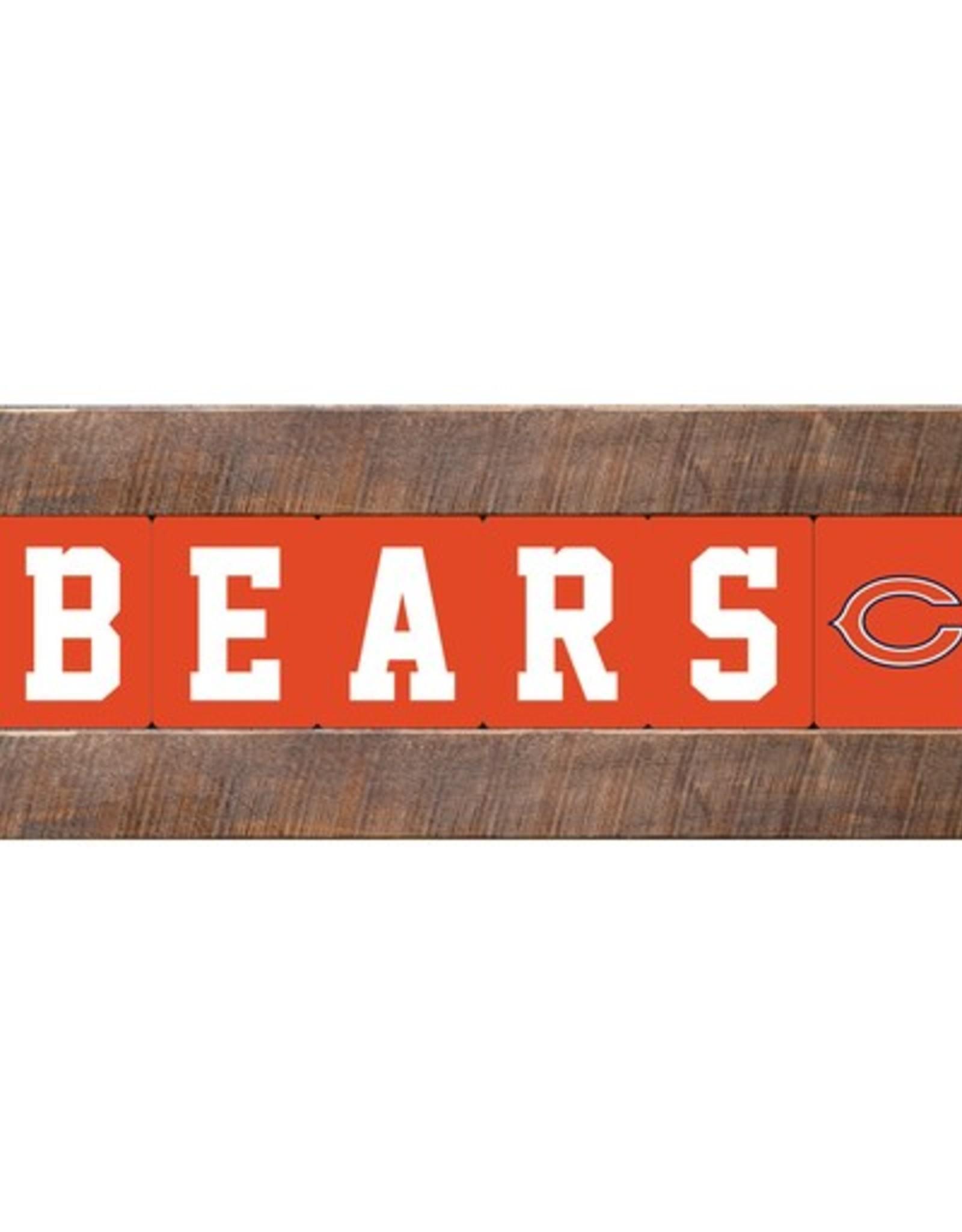 RUSTIC MARLIN Chicago Bears Marlin Classic Wood Sign