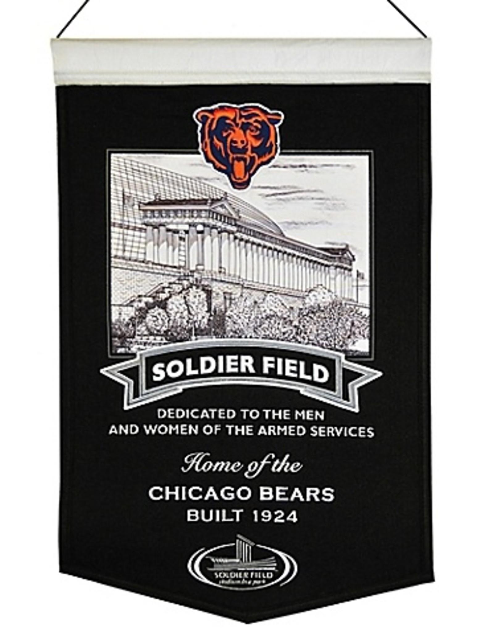 Chicago Bears Soldier Field Stadium Banner