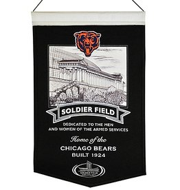 WINNING STREAK SPORTS Chicago Bears Soldier Field Stadium Banner
