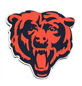 Chicago Bears 3D Foam Logo Sign - Head
