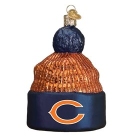 OLD WORLD CHRISTMAS Chicago Bears Beanie Ornament