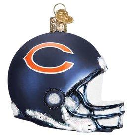 OLD WORLD CHRISTMAS Chicago Bears Helmet Ornament