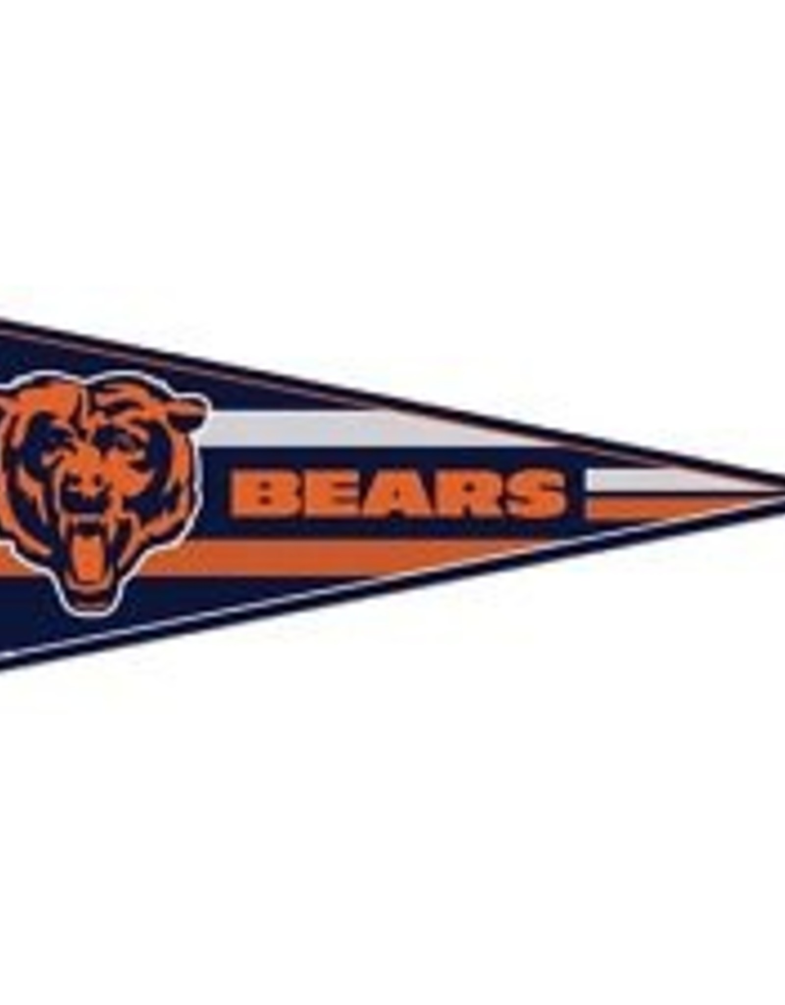 "Chicago Bears 12""x30"" Classic Pennant"