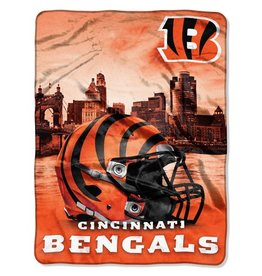 NORTHWEST Cincinnati Bengals 60in x 80in Silk Touch Throw Wrap