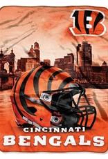 NORTHWEST Cincinnati Bengals 60in x 80in Silk Touch Throw Wrap
