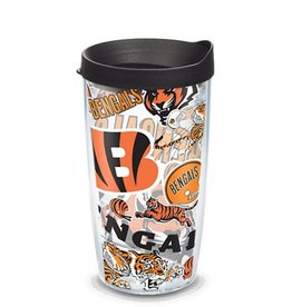 Cincinnati Bengals 16oz Tervis All Over Print Tumbler