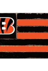 RUSTIC MARLIN Cincinnati Bengals Rustic Team Flag