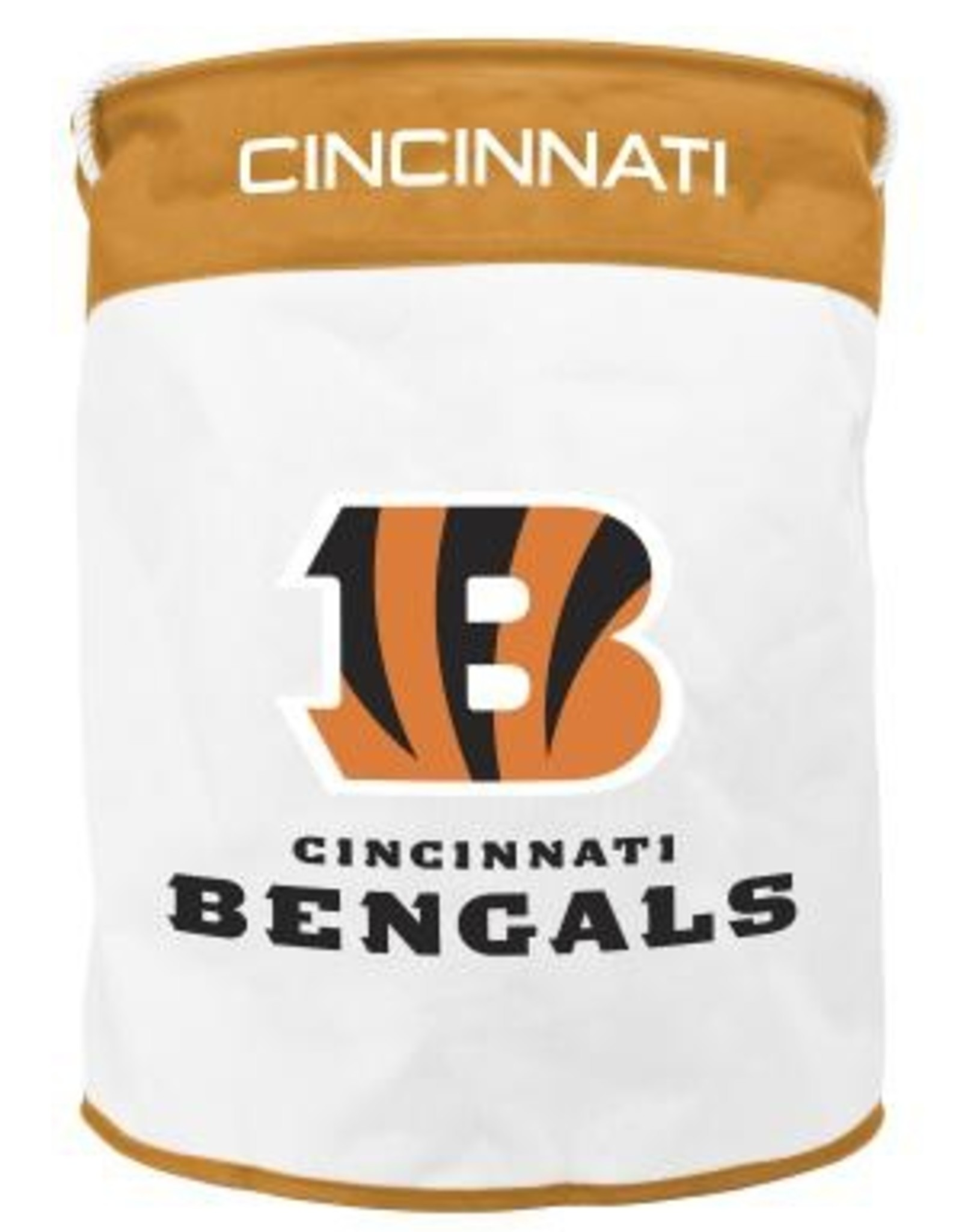 Cincinnati Bengals Canvas Laundry Basket