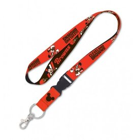 Cleveland Browns Disney Mickey Mouse Lanyard