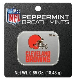 Cleveland Browns Breath Mints Tin