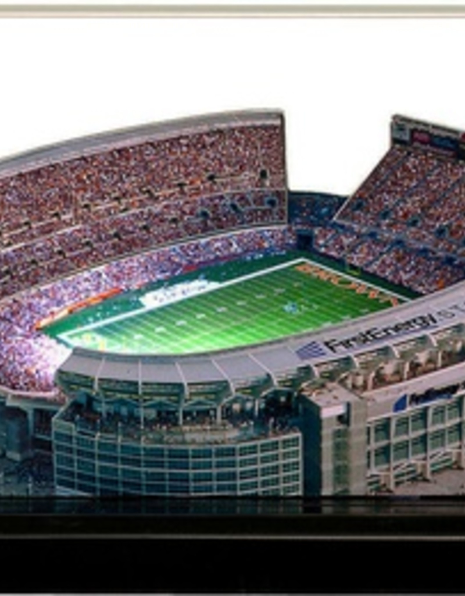 HOMEFIELDS Cleveland Browns 13IN Lighted Replica FirstEnergy Stadium