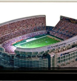 HOMEFIELDS Cleveland Browns 19IN Lighted Replica FirstEnergy Stadium
