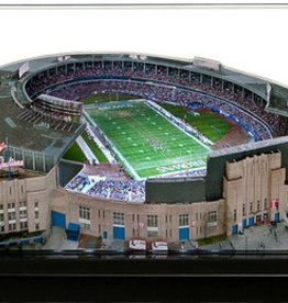 HOMEFIELDS Cleveland Browns 9in Lighted Replica Cleveland Municipal Stadium (1931-1995)