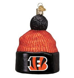 OLD WORLD CHRISTMAS Cincinnati Bengals Beanie Ornament