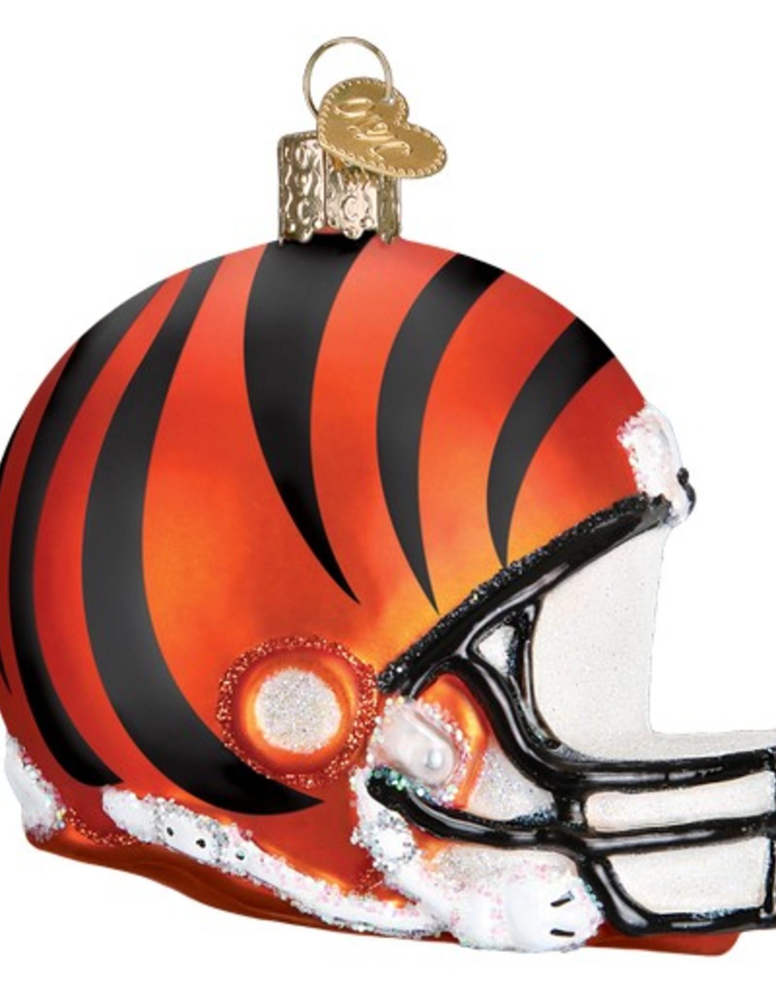 OLD WORLD CHRISTMAS Cincinnati Bengals Helmet Ornament