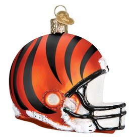 OLD WORLD CHRISTMAS Cincinnati Bengals Helmet Ornament
