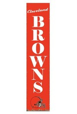 RUSTIC MARLIN Cleveland Browns Vertical Rustic Sign