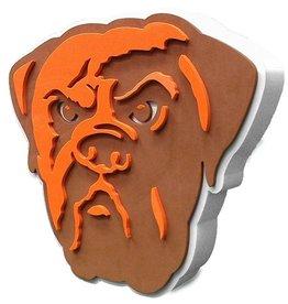 Cleveland Browns 3D Foam Logo Sign