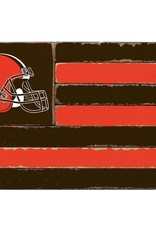 RUSTIC MARLIN Cleveland Browns Rustic Team Flag