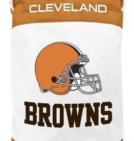 Cleveland Browns Canvas Laundry Basket