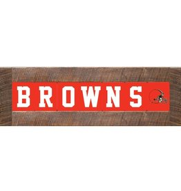 RUSTIC MARLIN Cleveland Browns Marlin Classic Wood Sign