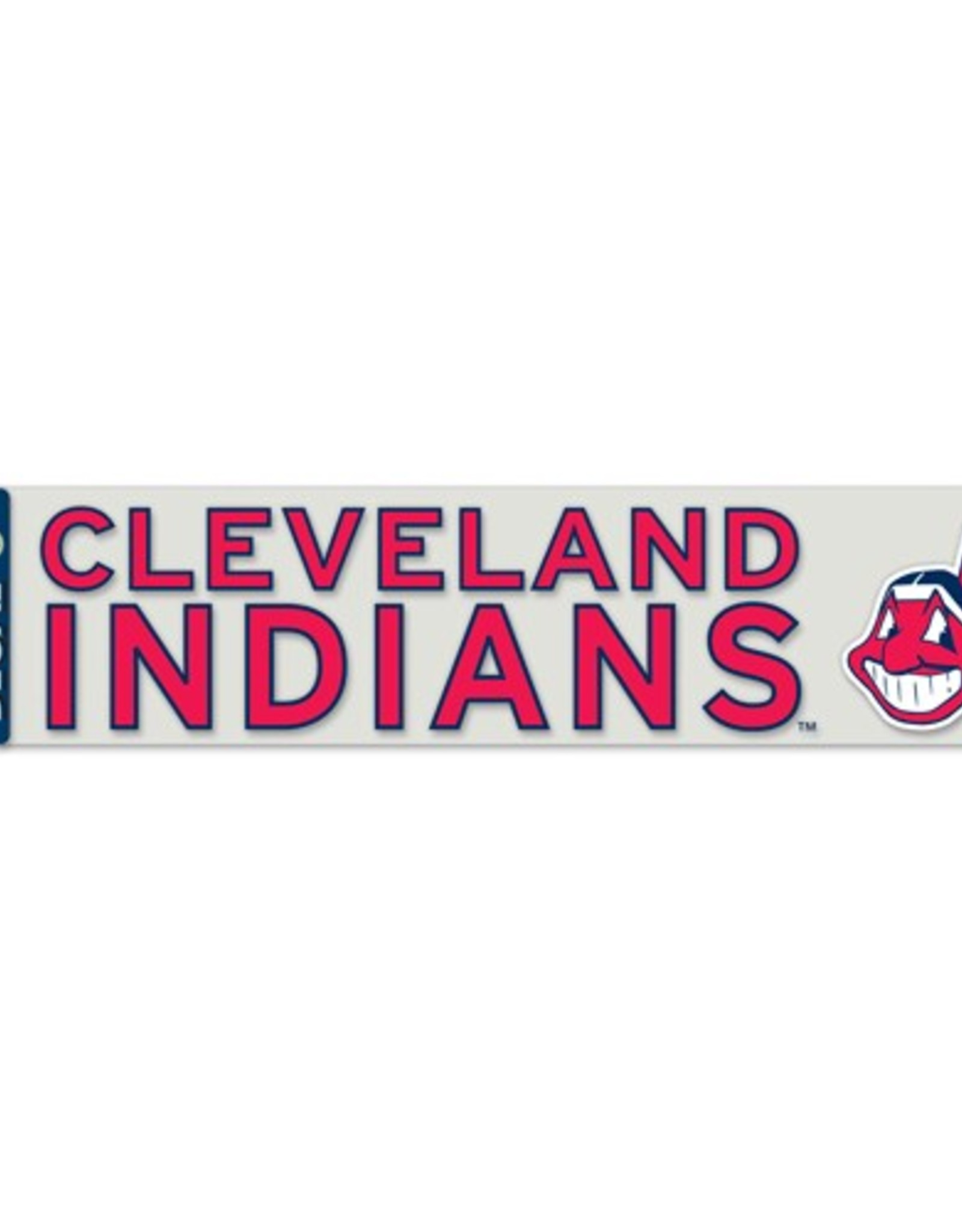 "WINCRAFT Cleveland Indians 4""x17"" Perfect Cut Decals"