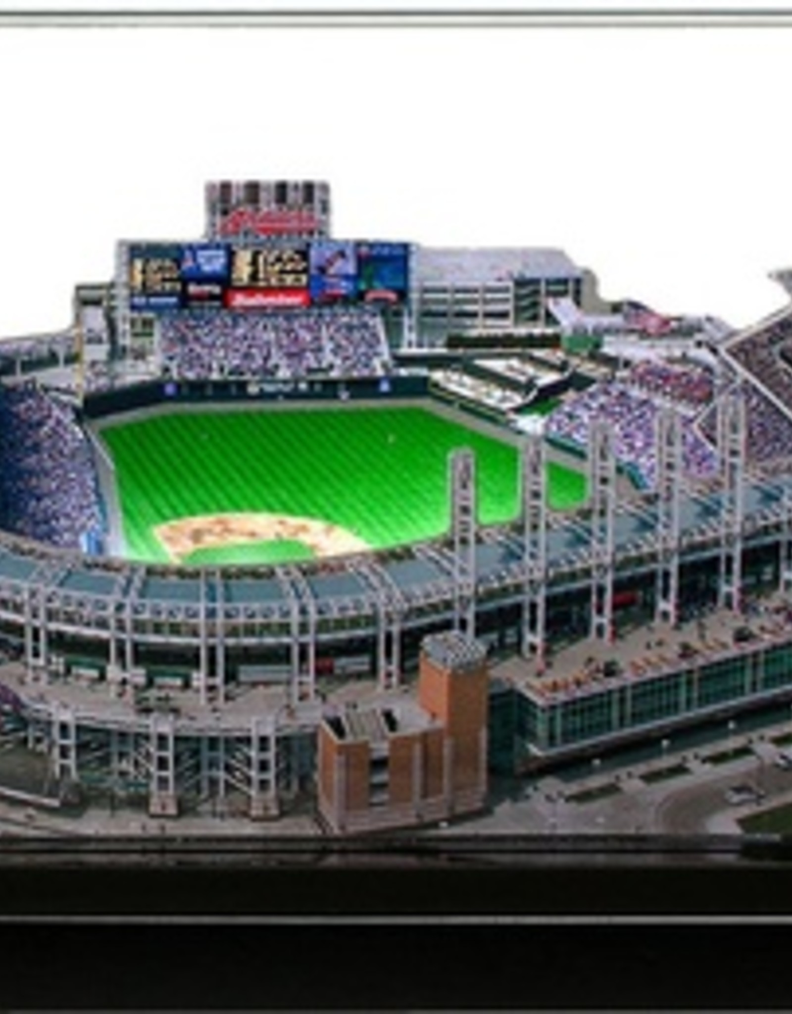 HOMEFIELDS Cleveland Indians 19IN Lighted Replica Progressive Field