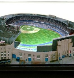 HOMEFIELDS Cleveland Indians 9in Lighted Replica Cleveland Municipal Stadium (1931-1995)