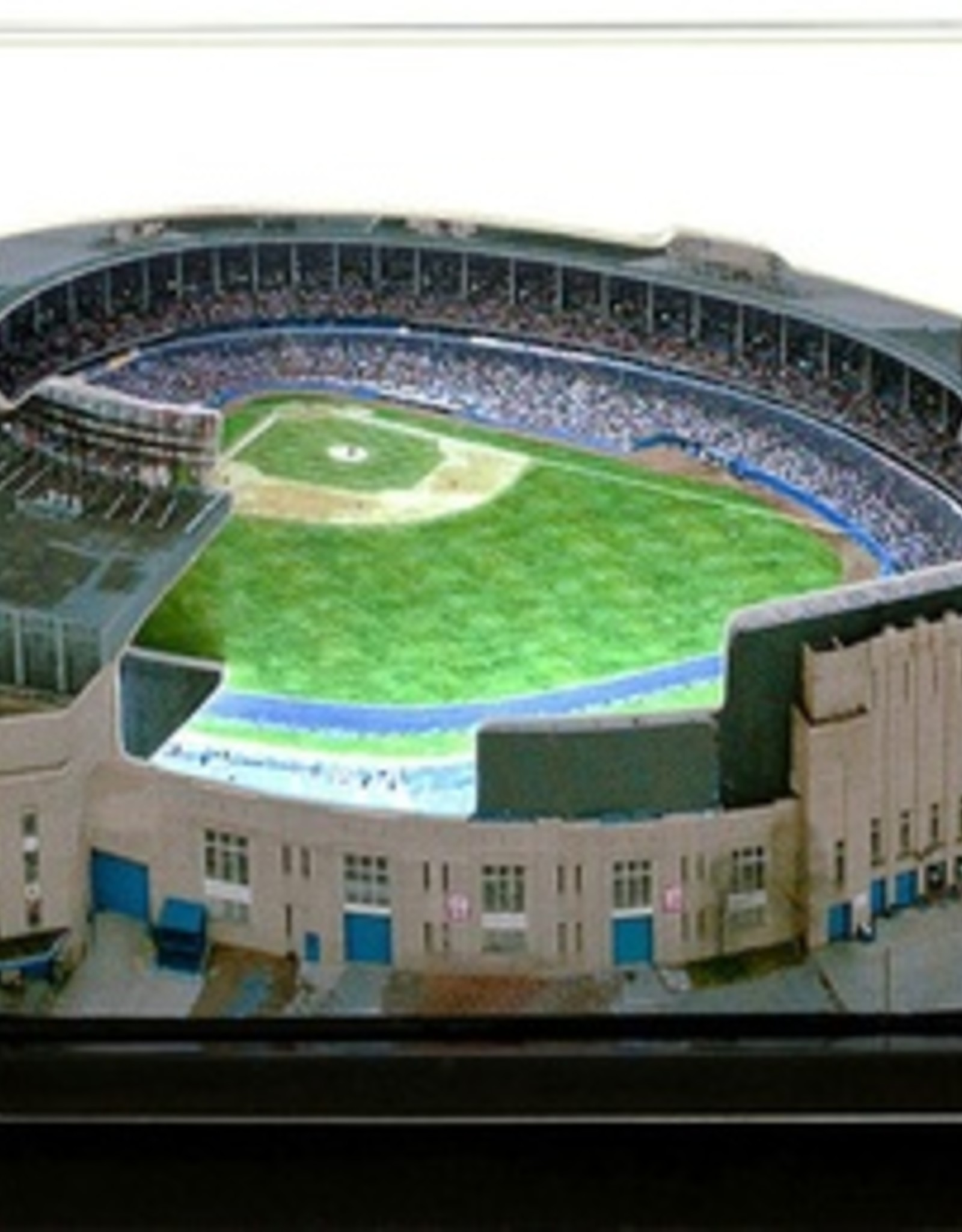 HOMEFIELDS Cleveland Indians 13IN Lighted Replica Cleveland Municipal Stadium (1931-1995)