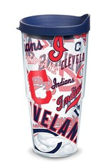 TERVIS Cleveland Indians 24oz Tervis All Over Print Tumbler