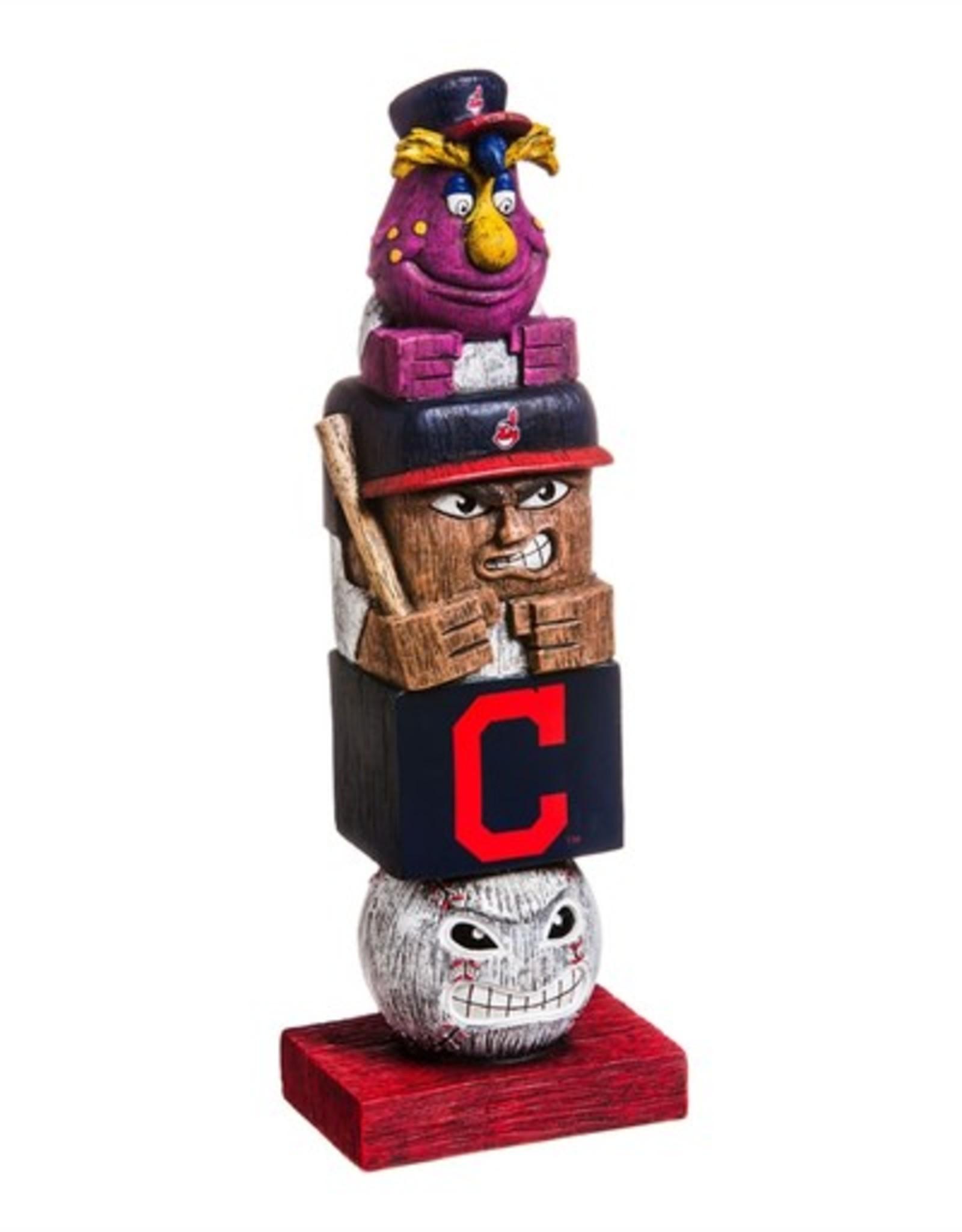 EVERGREEN Cleveland Indians Tiki Totem