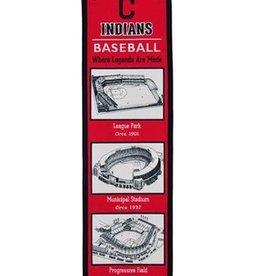 Cleveland Indians Stadium Heritage Banner