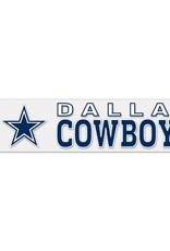 "WINCRAFT Dallas Cowboys 4""x17"" Perfect Cut Decals"
