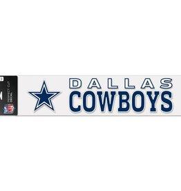 "WINCRAFT Dallas Cowboys 4""x17"" Perfect Cut Decals"