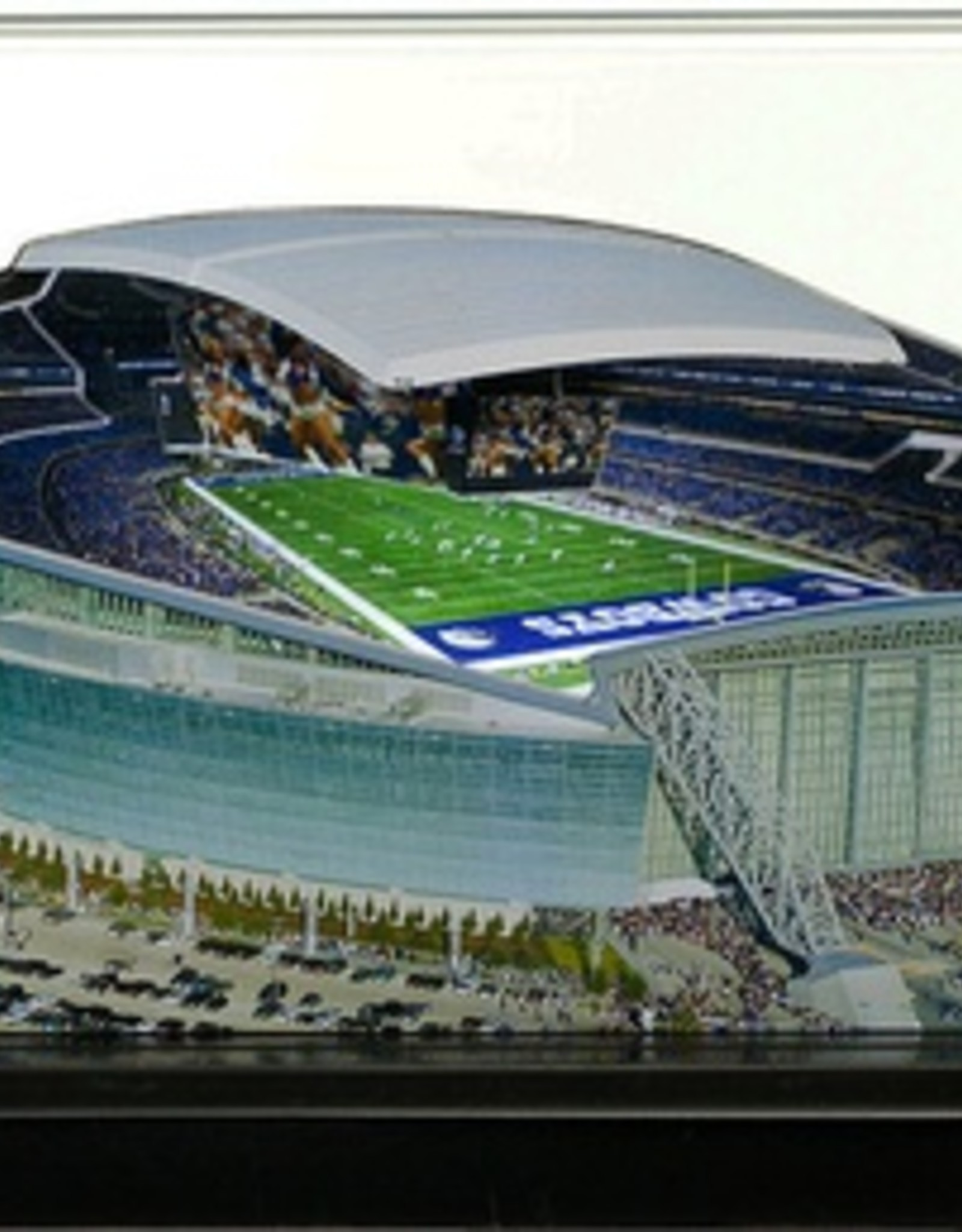 HOMEFIELDS Dallas Cowboys 9in Lighted Replica AT&T Stadium