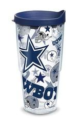 TERVIS Dallas Cowboys 24oz Tervis All Over Print Tumbler