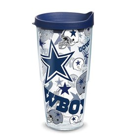 TERVIS Dallas Cowboys 24oz Tervis All Over Print Tumbler