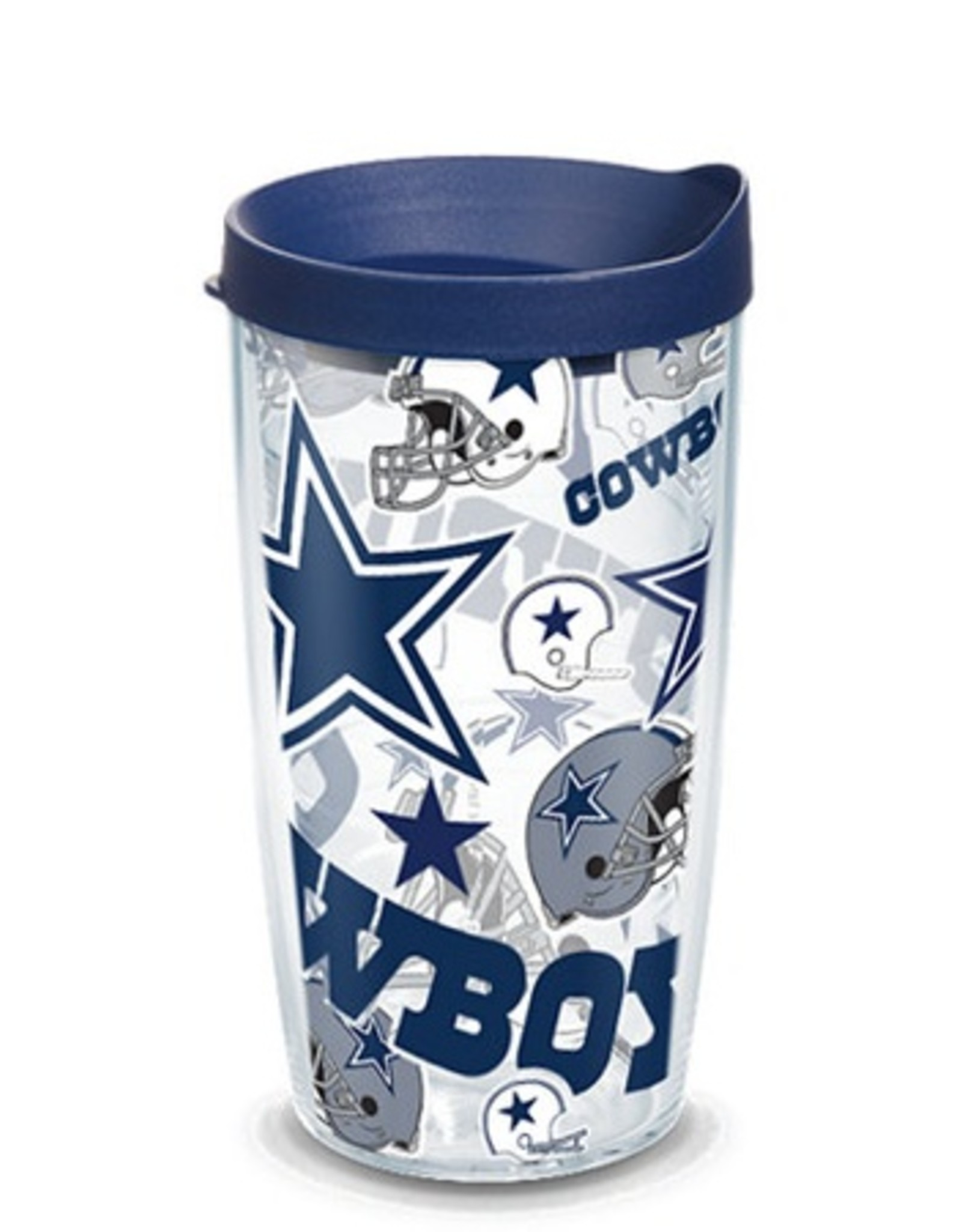 TERVIS Dallas Cowboys 16oz Tervis All Over Print Tumbler
