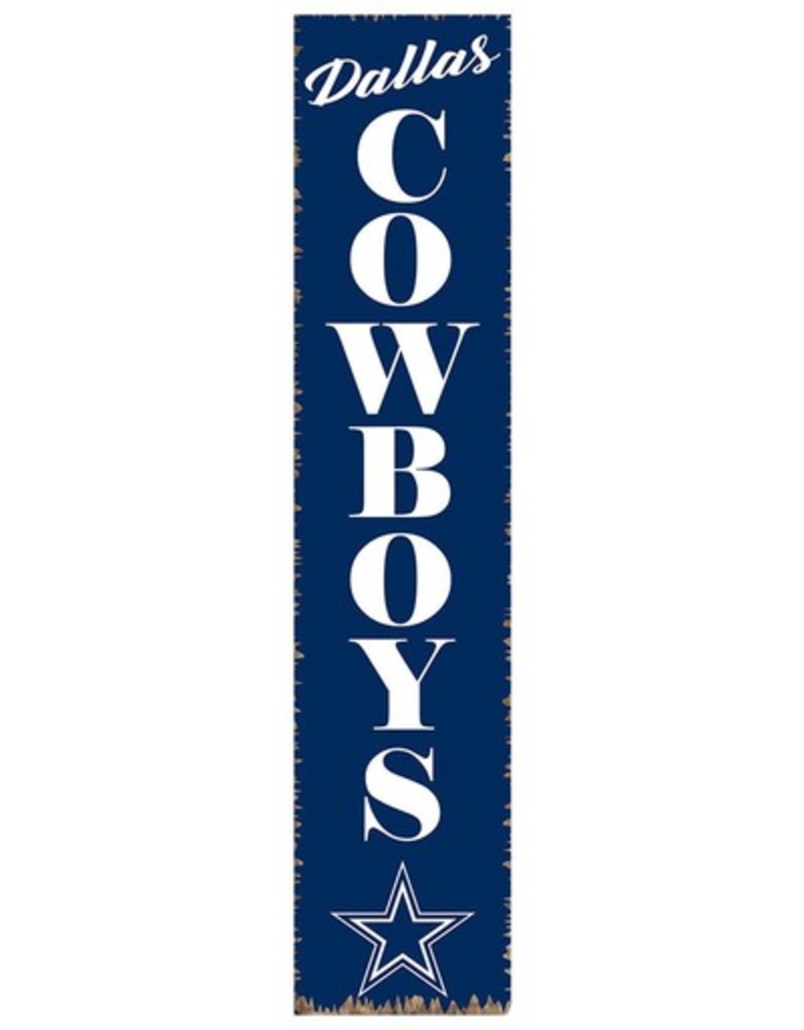 RUSTIC MARLIN Dallas Cowboys Vertical Rustic Sign