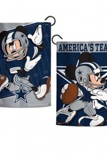 "WINCRAFT Dallas Cowboys Disney Mickey Mouse 12.5"" x 18"" Garden Flag"