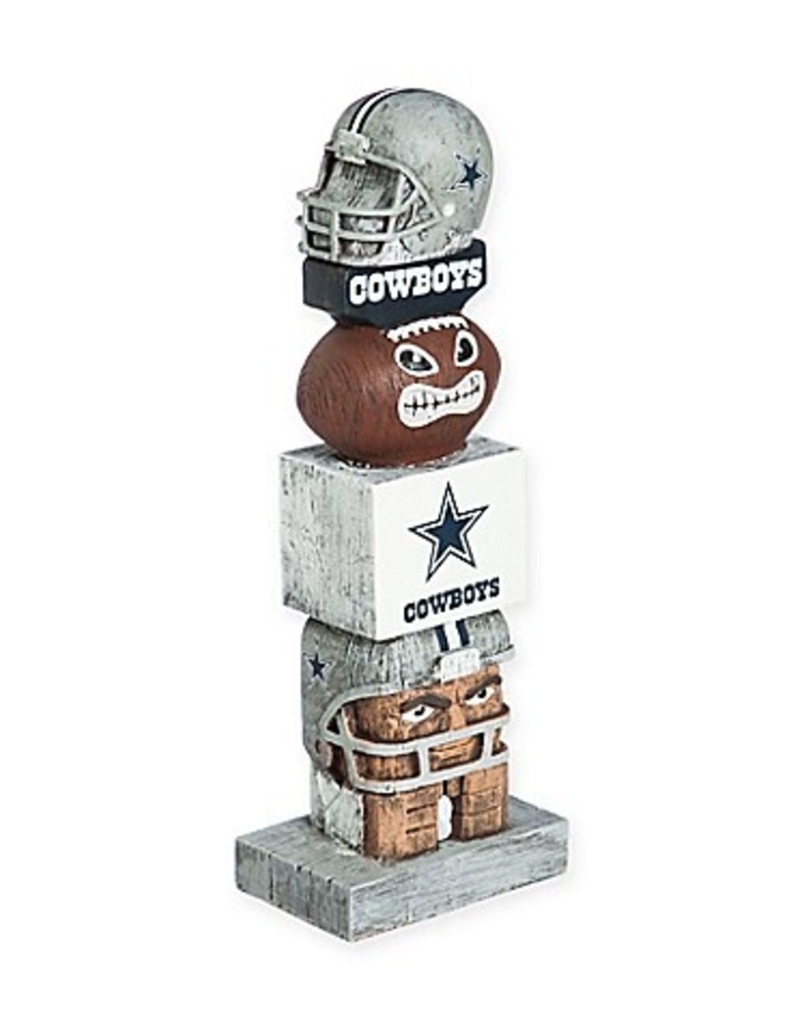 EVERGREEN Dallas Cowboys Tiki Totem