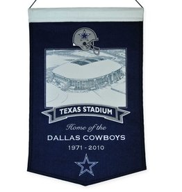 Dallas Cowboys Texas Stadium Banner