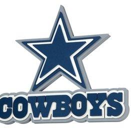 Dallas Cowboys 3D Foam Logo Sign - Font