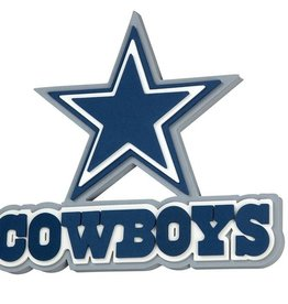 Dallas Cowboys 3D Foam Logo Sign - Star