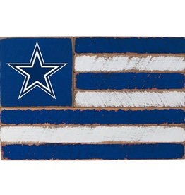 RUSTIC MARLIN Dallas Cowboys Rustic Team Flag