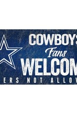 FAN CREATIONS Dallas Cowboys Fans Welcome Sign
