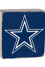 RUSTIC MARLIN Dallas Cowboys Rustic Wood Team Block