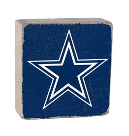 RUSTIC MARLIN Dallas Cowboys Rustic Wood Team Block