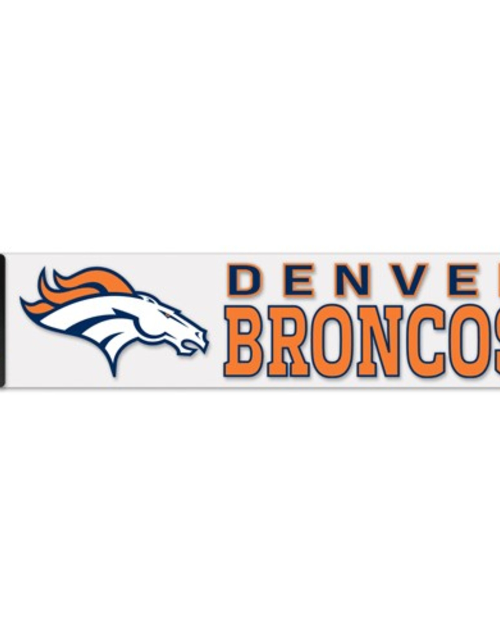 "WINCRAFT Denver Broncos 4""x17"" Perfect Cut Decals"