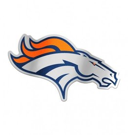 Denver Broncos Laser Cut Auto Badge Decal